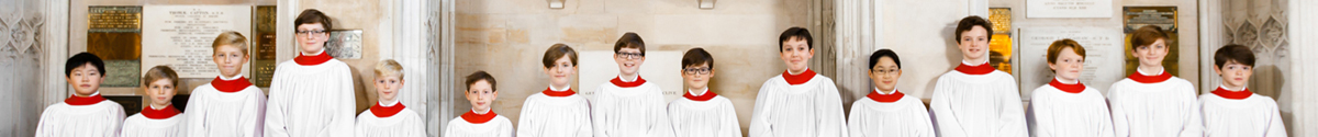 Page-Banner Choristers
