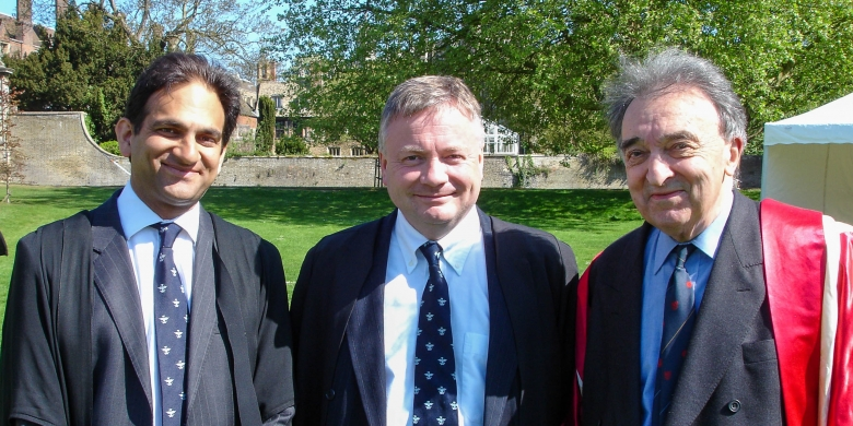 Andrew Nethsingha, David Hill, and Christopher Robinson