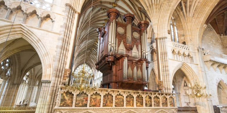 Exeter Cathedral Grand Organ © Exeter Cathedral