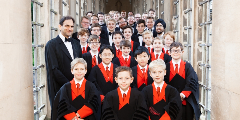 The Choir of St John's College, Cambridge 2017