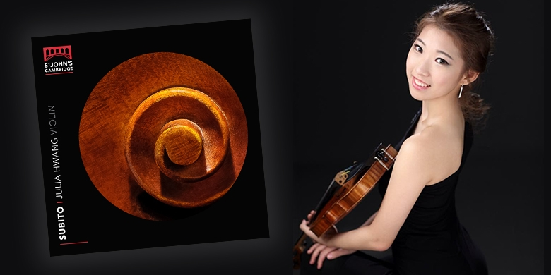 – the debut album by Music finalist and violinist Julia Hwang –