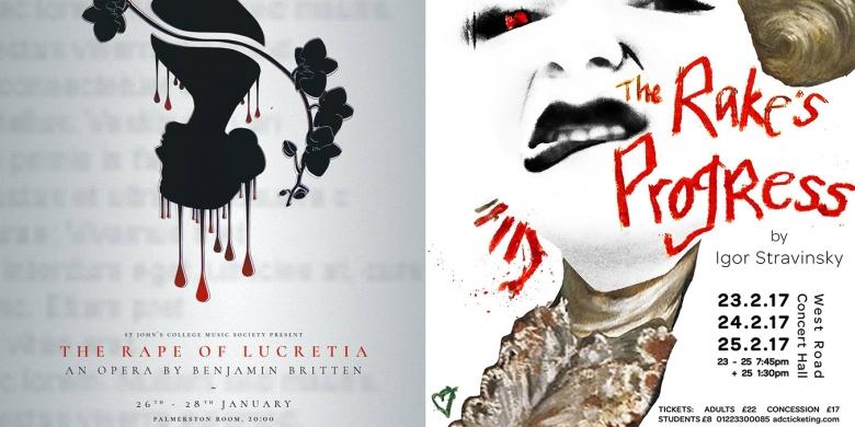 The Rape of Lucretia (St John's Music Society) and The Rake's Progress (CUOS)