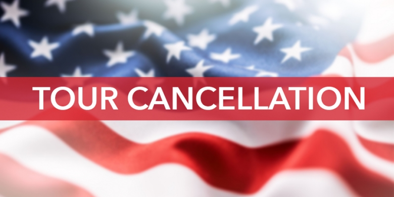 USA Tour Cancellation