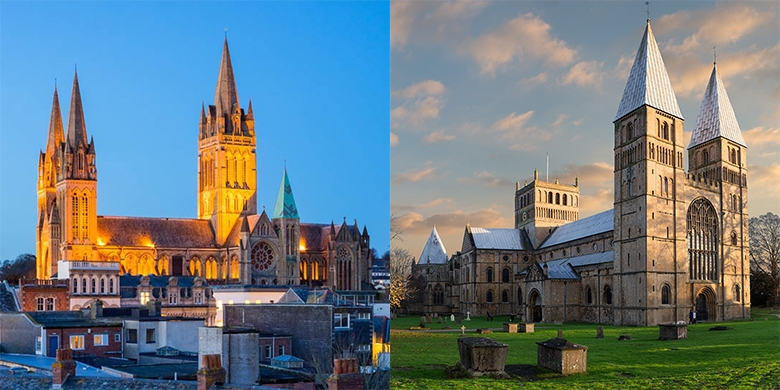Truro Cathedral and Southwell Minster