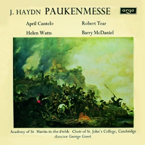 Paukenmesse (J. Haydn) Salve Regina (Michael Haydn)