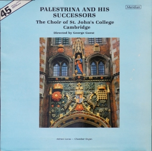 Music by Palestrina and his successors