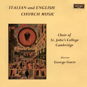 Italian and English Church Music