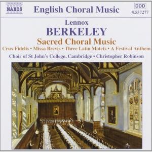 English Choral Music: Berkeley