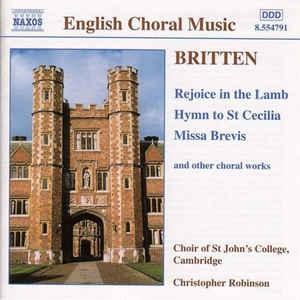 English Choral Music: Britten