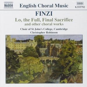 English Choral Music: Finzi
