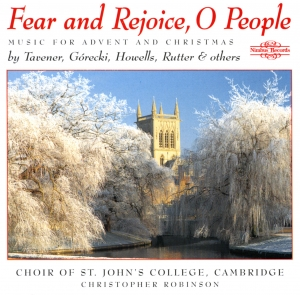 Fear and rejoice, O people