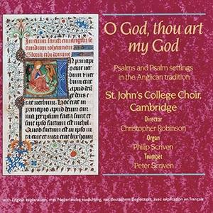 O God, Thou art my God