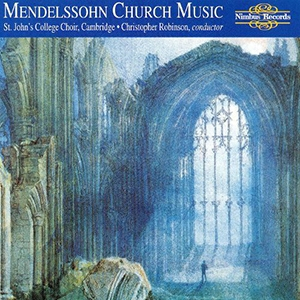 The Church music of Mendelssohn