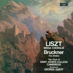Music by Liszt and Bruckner