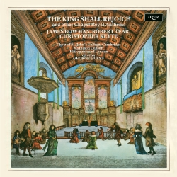 Chapel Royal anthems by Matthew Locke, John Blow and Pelham Humfrey
