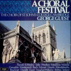 A Choral Festival (of works taken from previous recordings)