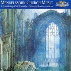 The Church music of Mendelssohn