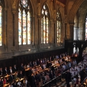 The Choir processing in to St John's College Chapel